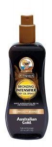 Australian Gold Bronzing Dry Oil Spray Intensifier Review