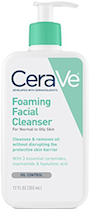 CeraVe Foaming Facial Cleanser for Daily Face Washing, Normal to Oily Skin Review