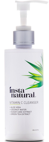 Vitamin C Facial Cleanser with Organic & Natural Ingredients by InstaNatural Review