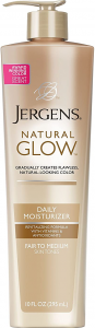 Jergens Natural Glow for Face Sunless Tanning Lotion Review
