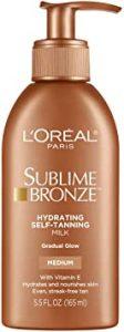 L'Oreal Paris Sublime Bronze Sunless Tanning Lotion Review