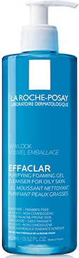 La Roche Posay Effaclar Purifying Foaming Gel Face Wash Cleanser Review