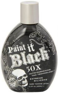 Millenium Tanning New Paint It Black Auto-darkening Dark Tanning Lotion Review