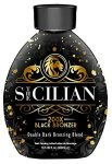The Sicilian 200X Double Dark Black Bronzer Tanning Lotion Review