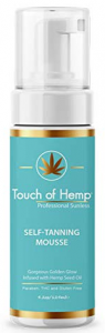 Touch of Hemp Self Tanning Mousse Review